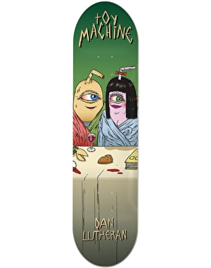 Toy Machine Lutheran Last Supper Pro Deck - 8.25