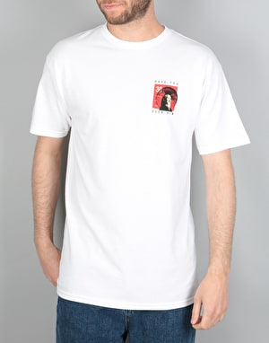 Powell Peralta Animal Chin Have You Seen Him? T-Shirt - White