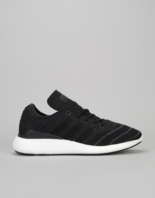 check out 01f62 09fde Adidas Busenitz Pure Boost Skate Shoes - Core BlackCore Black  Mens  Footwear  Trainers  Skate Shoes  Sneakers  Runners  Route One