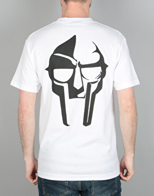 The Hundreds x MF Doom Mask T-Shirt - White