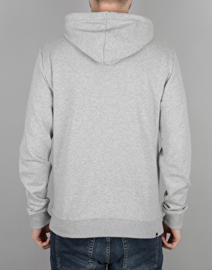 DC Square Pullover Hoodie - Grey Heather