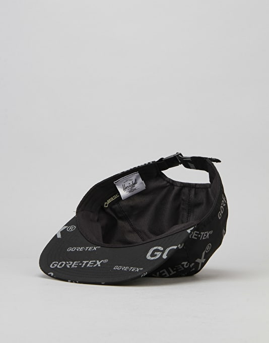 Herschel Supply Co. Albert Gore-Tex 6 Panel Cap - Black/Dark Grey