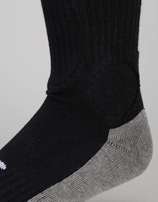 Footprint Bamboo Charcoal Painkiller Knee Socks