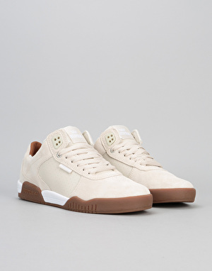 Supra Ellington Skate Shoes - White/Gum