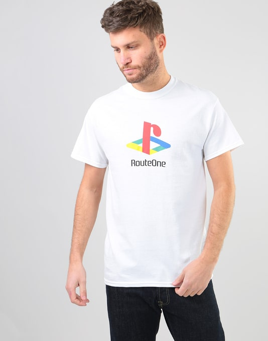 Route One Fony T-Shirt - White
