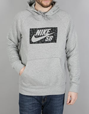 Nike SB Jagmo Icon Pullover Hoodie - DK Grey Heather