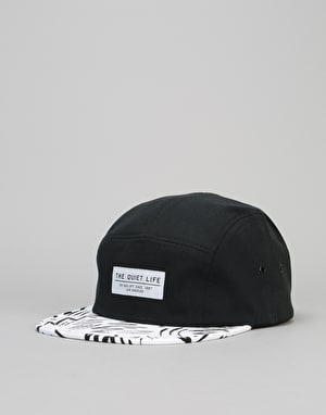 The Quiet Life Ziggity 5 Panel Cap - Black Upper/Jiggity Crown