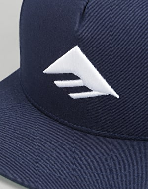 Emerica Triangle Snapback Cap - Blue