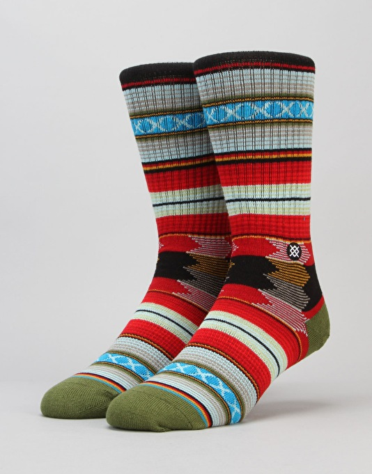 Stance Guadalupe Classic Light Socks - Black