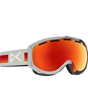 Anon Hawkeye 2017 Snowboard Goggles - VHS/Red Solex