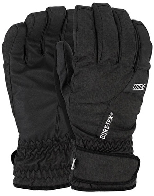 Pow Warner GTX (Short) 2017 Snowboard Gloves - Black