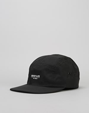 The Quiet Life Crush 5 Panel Cap - Black