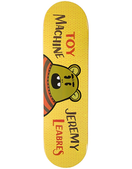 Toy Machine Leabres Toon Time Pro Deck - 8.5""