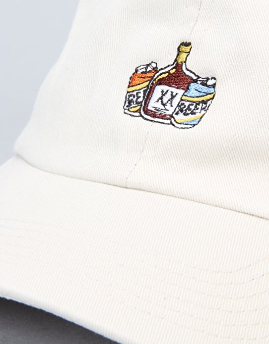 The Hundreds x Aaron Kai Alco Strapback Cap - Stone