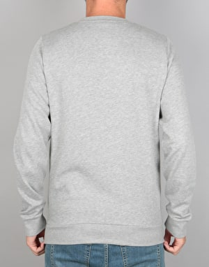 Element Cornell Crew Sweatshirt - Charcoal Heather