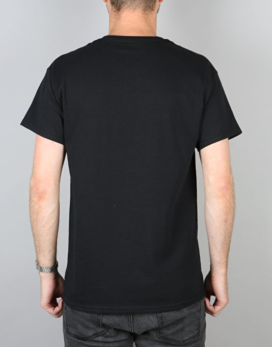 Route One Fries T-Shirt - Black