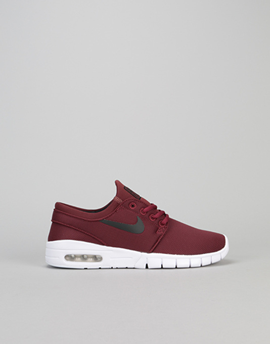 store low cost authorized site Nike SB Stefan Janoski Max Boys Skate Shoes - Dark Team Red/Black