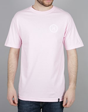 HUF Checkered T-Shirt - Pink