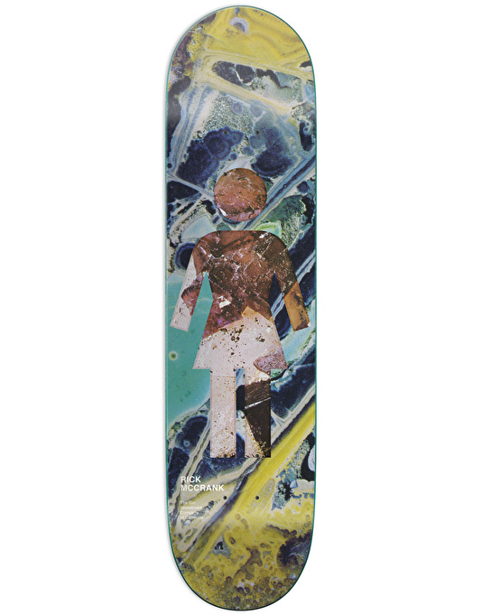 Girl McCrank Geol-OG Skateboard Deck - 8.5""