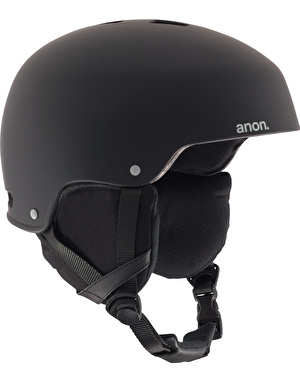 Anon Striker 2017 Snowboard Helmet - Black