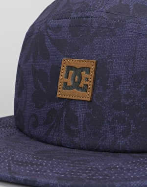 DC Stover 5 Panel Cap - Summer Blues