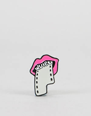The Quiet Life Film Lips Pin