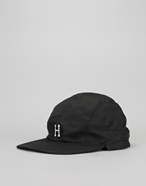 HUF Summit Volley 5 Panel Cap - Black