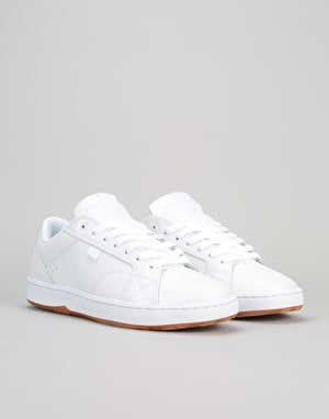 DC Astor Skate Shoes - White/Gum