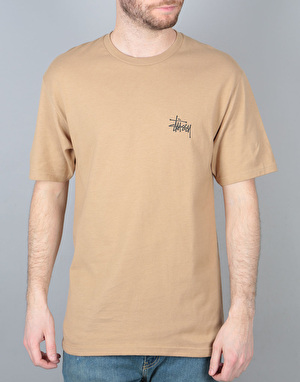 Stüssy Basic Stüssy T-Shirt - Light Brown