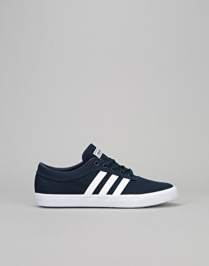 Adidas Sellwood Boys Skate Shoes - Collegiate Navy/White/White
