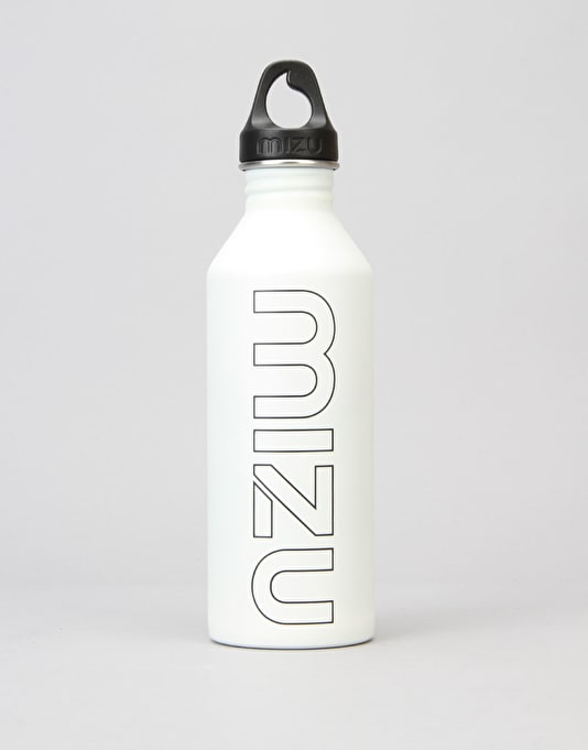 MIZU M8 Glow In The Dark 800ml/27oz Water Bottle - Black