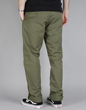 Carhartt Station Pant - Rover Green (Rinsed)