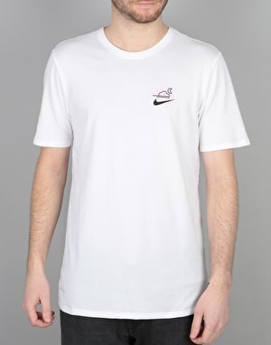 Nike SB DF Skyscraper T-Shirt - White/Black