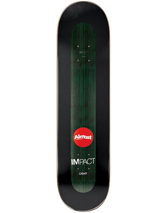 Almost Willow Neon Power Supply Impact Light Pro Deck - 8""