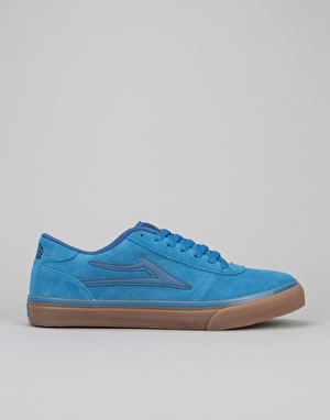 Lakai Manchester Select Skate Shoes - Blue/Gum Suede