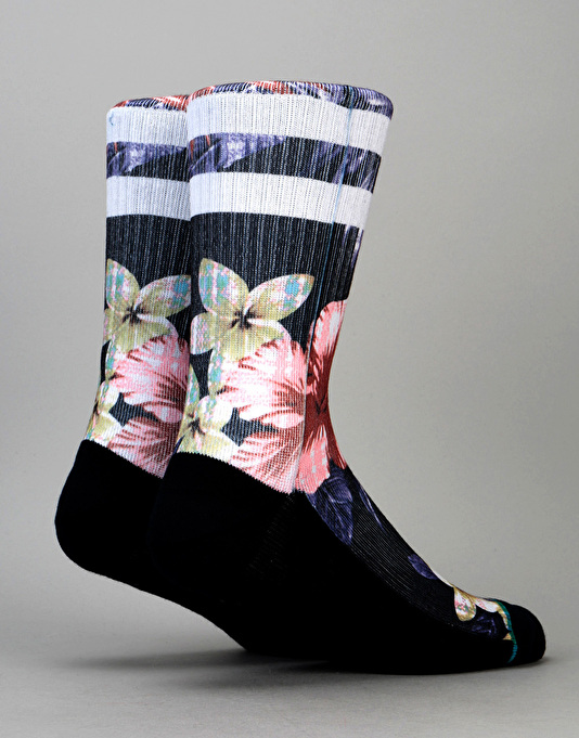 Stance Lounge Bird Classic Crew Socks - Navy