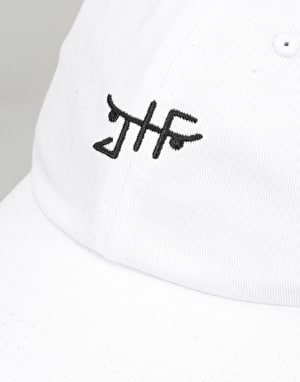 Just Have Fun Classic Skate Dad Cap - White