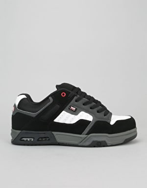DVS Enduro Heir Skate Shoes - Black/Red/Grey