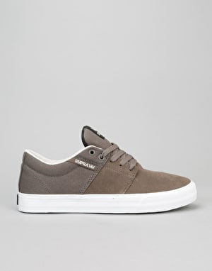 Supra Stacks II Vulc Skate Shoes - Morel/White