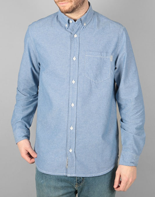 Carhartt Civil L/S Shirt - Glacier Rinsed