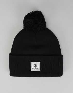 Element Dusk Pom Beanie - Flint Black