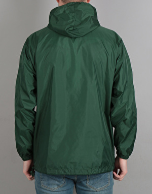 Theories Field Ops Hooded Windbreaker - Forest Green