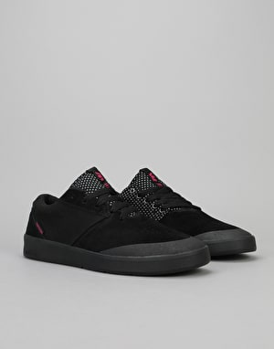 Supra Shifter (Lucien Clarke) Skate Shoes - Black