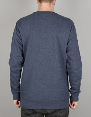 Vans Classic Crew Sweatshirt - Dress Blues Heather/Marshmallow