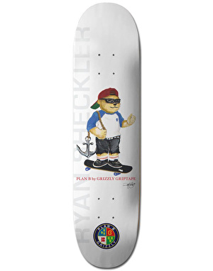 Grizzly x Plan B Sheckler Pro Deck - 8.25