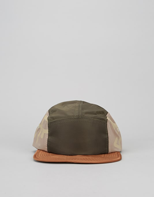 Just Have Fun Parachute Packable 5 Panel Cap - Forest Green