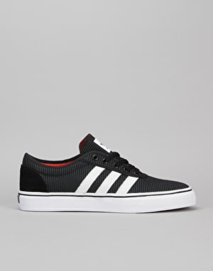 Adidas Adi-Ease Skate Shoes - Core Black/White/Energy