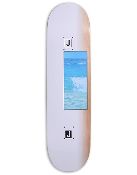 Quasi Johnson 'Ocean' One Skateboard Deck - 8.125""