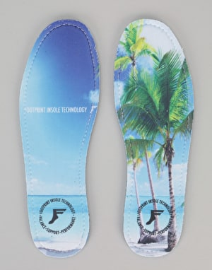 Footprint Beach 7mm High Profile King Foam Insoles