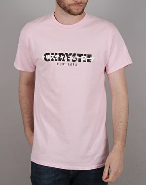 Chrystie OG + Japanese Logo T-Shirt - Light Pink